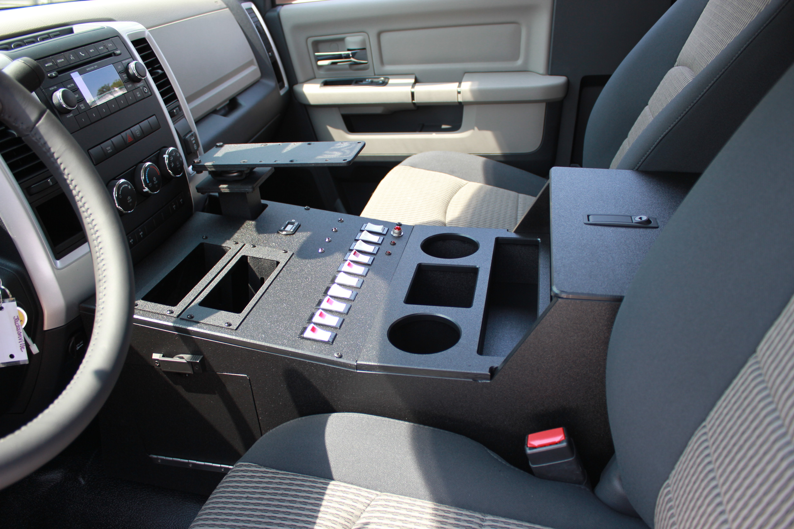 Emergency vehicle consoles ideas