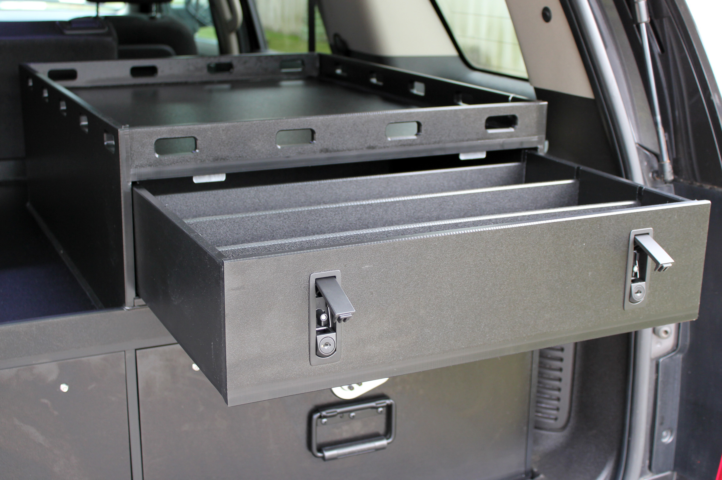 safe product storage land discovery accessories drawer drawers translock box suv gun rover