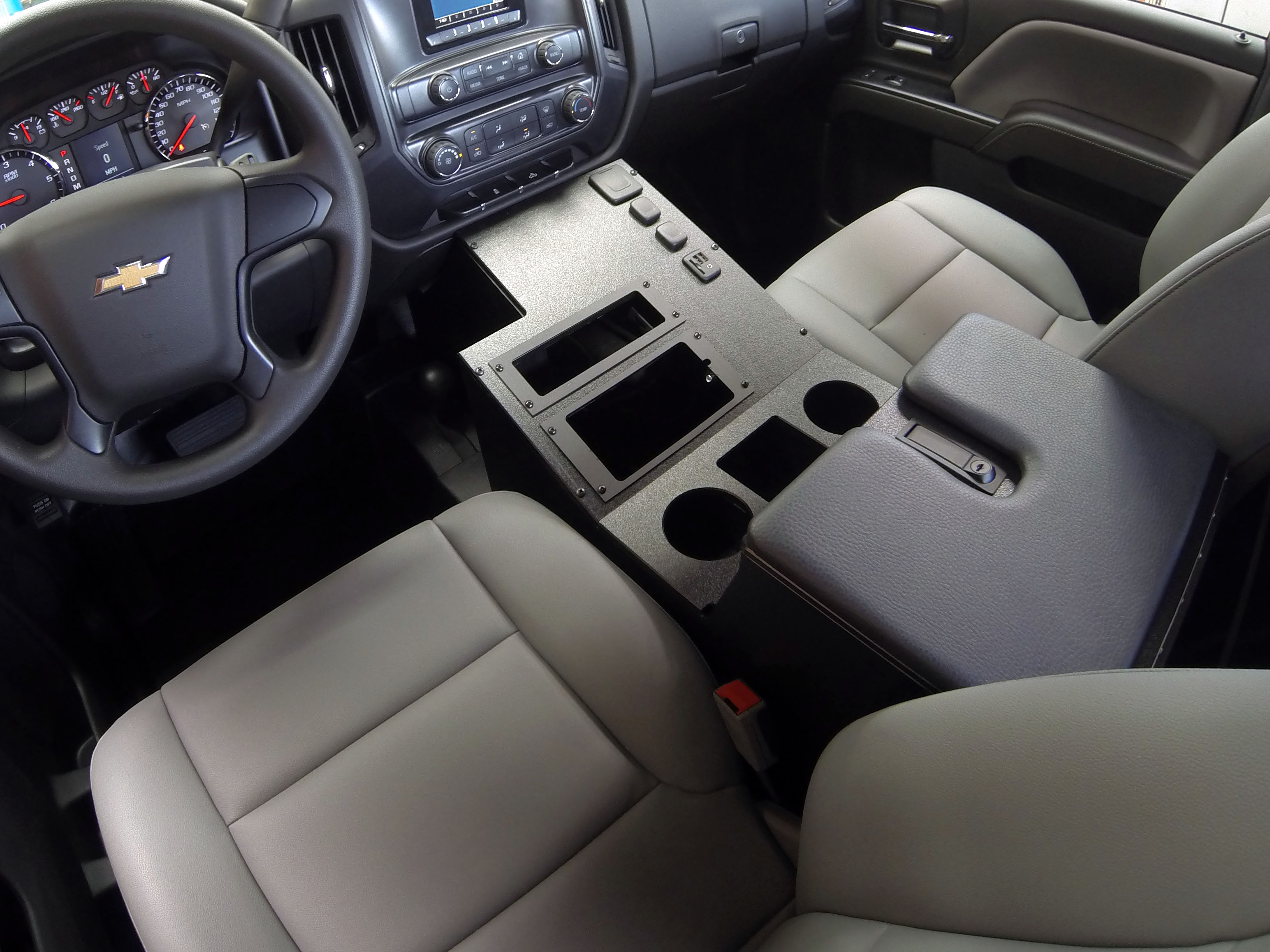 2014 4x4 Console Driver Side