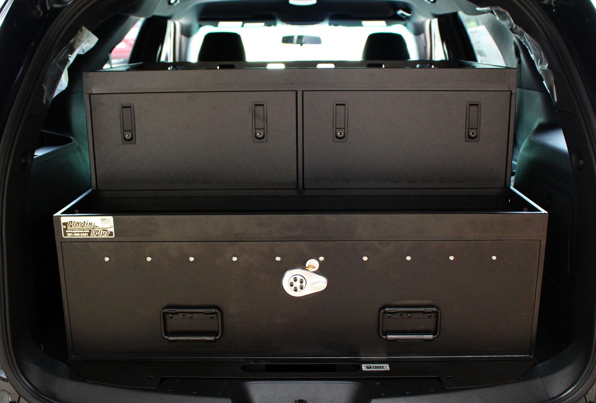 Ford Interceptor SUV Option Drawers